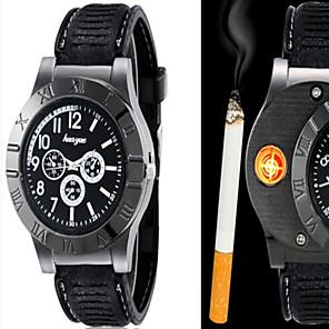 preiswerte Uhren Herren-Herrn Uhr Armbanduhr Quartz Legierung Schwarz / Braun Analog Klassisch Freizeit Modisch Schwarz Braun / Zwei jahr / Zwei jahr