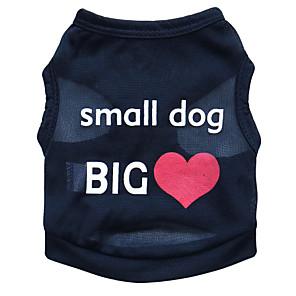 ieftine Imbracaminte & Accesorii Căței-Pisici Câine Tricou Îmbrăcăminte Câini Negru Albastru Roz Costume Terilenă Floral / Botanic Modă XS S M L