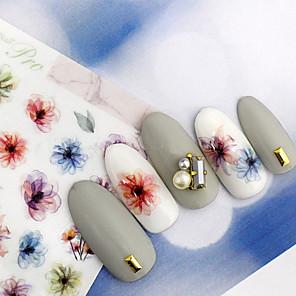 ieftine Puzzle-1 pcs Aplicația de transfer de apă nail art pedichiura si manichiura Modă Zilnic