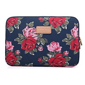 """tanie Przybory i gadżety do pieczenia-10.1 """"11.6"""" 13,3 """"płótno laptop rękawy tkaniny kwiat torba na laptopa na macbook / powierzchni / hp / dell / samsung / sony itp."""
