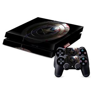 ieftine Accesorii PS4-B-SKIN Acțibild Pentru PS4 . Acțibild PVC 1 pcs unitate