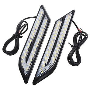 저렴한 LED 제품-exLED 2pcs 차 전구 24 W SMD 5630 500 lm 66 LED 주간 주행등 제품
