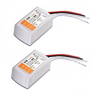 ราคาถูก ไดรเวอร์ LED-2 ชิ้น ac 110-240 โวลต์เป็น dc 12 โวลต์ 18 วัตต์นำแปลงแรงดันไฟฟ้า
