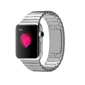 povoljno Pravi bežični uš-Pogledajte Band za Apple Watch Series 5/4/3/2/1 Apple Leptir Buckle Nehrđajući čelik Traka za ruku