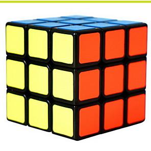 ieftine Cuburi Magice-Magic Cube IQ Cube 3*3*3 Cub Viteză lină Cuburi Magice Alină Stresul puzzle cub nivel profesional Viteză Profesional Clasic & Fără Vârstă Pentru copii Adulți Jucarii Băieți Fete Cadou