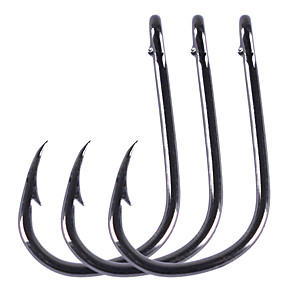 ieftine Cârlige Pescuit-100 pcs Cârlige Aberdeen Cârlige de Pescuit Ac / Thin Hang-Nail / Vârf Curbat Pescuit mare / Pescuit de Apă Dulce / Pescuit în General Crom Uşor de Folosit