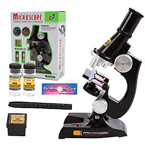 hesapli Ekran Modelleri-Mikroskoplar Eğitici Oyuncak Ayarlanabilir Aydınlatma Fonksiyonlu 100X - 450X Büyütme Çocuklar için Genç Erkek Genç Kız Oyuncaklar Hediye 1 pcs