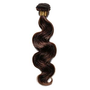 ieftine Extensii de Păr-Păr Indian Stil Ondulat Păr Natural Precolored Țesăturile de par Umane Țesăturile de par Umane extensii de par / 8A