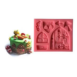 ieftine Ustensile & Gadget-uri de Copt-1 buc Plastic Ecologic O noua sosire decorare tort Tort Materiale pentru torturi Instrumente de coacere
