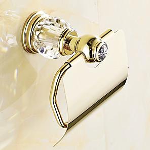 ieftine Gadget Baie-Suport Hârtie Toaletă Contemporan Alamă 1 buc