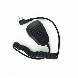 ieftine Plase Pescuit-walkie-talkie umăr microfon microfon sunet clar și o picătură adecvat rezistent pentru kendood Baofeng 365 wouxun tyt