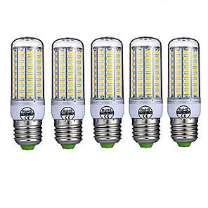 povoljno LED klipaste žarulje-5pcs 10 W LED klipaste žarulje 980 lm E26 / E27 T 72 LED zrnca SMD 5730 Ukrasno Toplo bijelo Hladno bijelo 220-240 V / 5 kom. / RoHs