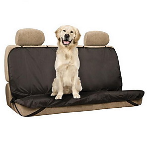 ieftine Cagule și măști pentru față-Câine Husă Scaune Mașină Impermeabil Pliabil Animale de Companie  Rogojini & Pernuțe Poliester Nailon Mată Negru