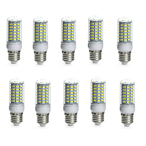 povoljno LED klipaste žarulje-10pcs 10 W LED klipaste žarulje 850-950 lm E14 G9 GU10 Cijev 69 LED zrnca SMD 5730 Vodootporno Ukrasno Toplo bijelo Hladno bijelo 220-240 V 110-130 V / 10 kom. / RoHs