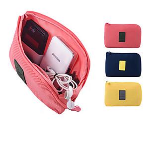 ieftine Gadget Baie-Organizator de călătorii / Organizator Bagaj de Călătorie / Geantă Pașaport & ID Capacitate Înaltă / Impermeabil / Portabil pentru Haine / Căști / Cablu USB Îmbrăcăminte Oxford / Poliester /