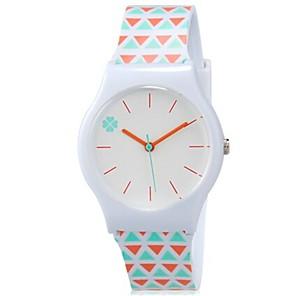 ieftine Cuarț ceasuri-Ceas de Mână Quartz Orange Cool Plin de Culoare Analog femei Prăjit Casual - Alb