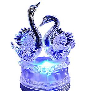 ieftine Lumini & Gadget-uri LED-LED-uri de lumină de noapte Decorativ Baterie 1 piesă