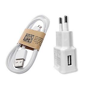 ieftine încărcător cu cablu-Încărcător Casă / Încărcător Portabil Încărcător USB Priză EU Încarcator Rapid 1 Port USB 1 A pentru