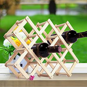 ieftine Produse de Bar-creativ bucatarie din lemn arta vin rack grogshop restaurant decor