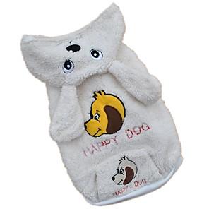 povoljno Odjeća za psa i dodaci-Pas Kostimi Hoodies Životinja Cosplay Zima Odjeća za psa Obala Kostim Flis XS S M L