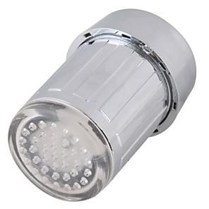 ieftine Robinete-led robinet de apă lumina colorat schimbarea strălucire duș cap de bucătărie tapet aeratoare
