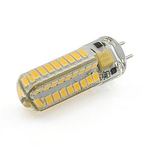 ieftine Ceasuri Damă-gy6.35 bec de porumb condus 5w 72 smd 2835 ac / dc 12v siliconic lumina reflectoarelor alb / cald (1 buc.) 350 lm