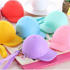 ieftine Organizatoare Birou-șapcă de baseball colorat silicon schimbare pungă