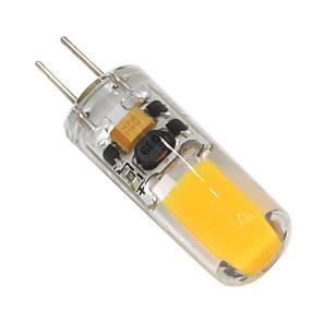 ieftine Brățări-2 W Becuri LED Bi-pin 160-200 lm G4 T 1 LED-uri de margele COB Intensitate Luminoasă Reglabilă Alb Cald / 1 bc