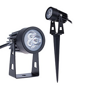 ieftine Becuri Solare LED-jiawen 3w 255lm led floodlight 3 LED-uri în aer liber gradina gazon peisaj lampă cald alb rece alb ac85-265v