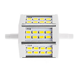 ieftine Lumini Tub LED-1 piesă r7s 78mm 10w led lumina de economisire a energiei 24 smd 5630 înlocuire halogen lampă floodlight ac85-265v