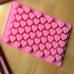ieftine Walkie Talkies-unelte de gătit bucătărie 55 găuri drăguț inimă silicon mucegai ciocolată gheață bomboane lolly muffin mucegai producător de cadouri