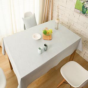 ieftine Fețe de masă-Dreptunghiular Solid Fețe de masă , Amestec In / Bumbac MaterialCrăciun Decor Favor / Tabelul Dceoration / Nunti / Cina Decor Favor /