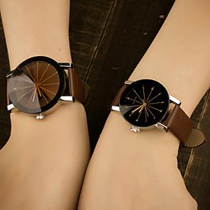 preiswerte Uhren Herren-Herrn Uhr Armbanduhr Quartz Leder Blau / Mehrfarbig Analog Klassisch Freizeit Modisch Schwarz Kaffee Rot / Edelstahl / Ein Jahr / Tianqiu 377