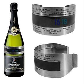 ieftine Produse de Bar-lichid de cristal de vin termometru termometru din oțel inoxidabil