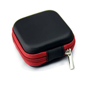 ieftine Organizatoare de Cablu-caz Geanta de depozitare pentru căști de căști auriculare de cablu caz container de cutie de depozitare sac husă HOLDE