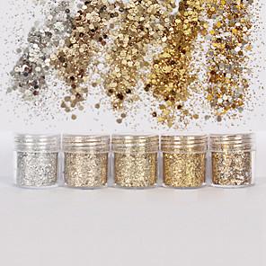 ieftine Îngrijire Unghii-1 pcs Glitter & Poudre / Paiete Glitters / Clasic Zilnic