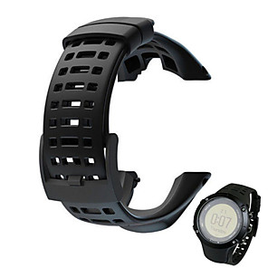 cheap AC Adapter & Power Cables-Watch Band for SUUNTO AMBIT 2 Suunto Sport Band Rubber Wrist Strap