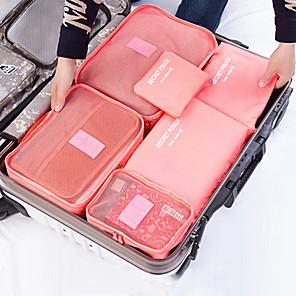 ieftine Stocare și Organizare-textil Plastic Oval Călătorie Acasă Organizare, 1 buc Pungi de Depozitare