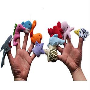 ieftine Păpuși-Păpuși de Degete Păpuși de mână Γεμιστά και λούτρινα ζωάκια Dinosaur Novelty Pluș Joc imaginar, ciorapi, daruri de mare aniversare Fete