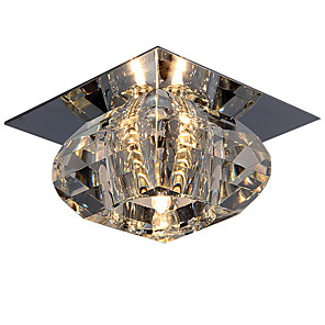 "ieftine Becuri LED Plafon-LightMyself™ 10(4"") Cristal / Stil Minimalist Lumini Tavan Fixe Crom Modern contemporan 110-120V / 220-240V / G4"