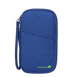 ieftine Genți Călătorie-Organizator de călătorii Portmoneu Călătorie Geantă Pașaport & ID Capacitate Înaltă Impermeabil Portabil pentru Haine Nailon 25.5*14.5*4 cm / Durabil
