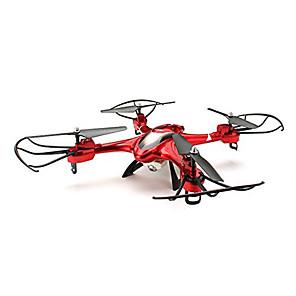 baratos RC Quadcopter-RC Drone SJ  R / C X300-2 4CH 6 Eixos 2.4G Quadcópero com CR Retorno Com 1 Botão / Modo Espelho Inteligente / Vôo Invertido 360° Quadcóptero RC / Controle Remoto / Cabo USB / CE