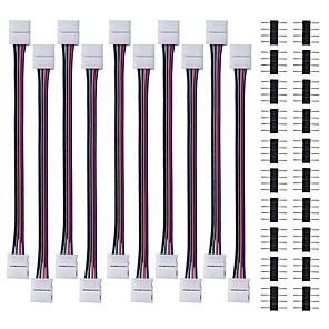 hesapli Konnektörler-KWB Tiktok LED Şerit Işıklar Modellendirme 10pcs
