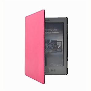 ieftine Ceasuri Bărbați-Maska Pentru Kindle 5 / Amazon Kindle 4 Carcase integrale Carcasă Telefon Culoare solidă Greu PU piele