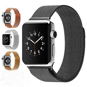 povoljno Apple Watch remeni-narukvica od milanske narukvice od nehrđajućeg čelika za jabučni sat serije 1/2/3 42 mm narukvica od narukvice od 38 mm za iwatch seriju 4 / iwatch serije 5 40 mm 44 mm