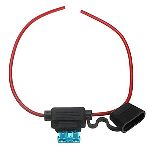 ieftine Rear View Monitor-sârmă 20 amperi iztoss în linie suport auto de automobile siguranțe lamă cu 20 cm linie și 10pcs siguranță