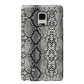 abordables Other Série Protections d'Ecran pour Samsung-Coque Pour Samsung Galaxy Note Edge Antichoc Coque Lignes / Vagues Dur faux cuir