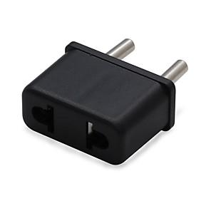 cheap AC Adapter & Power Cables-EU Plug to US and EU  Travel AC Power Adapter Plug(110v-240v)