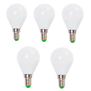 ieftine Becuri LED Glob-EXUP® 5pcs 7 W Bulb LED Glob 800 lm E14 E26 / E27 G45 12 LED-uri de margele SMD 2835 Decorativ Alb Cald Alb Rece 220-240 V 110-130 V / 5 bc / RoHs / CCC / ERP / LVD