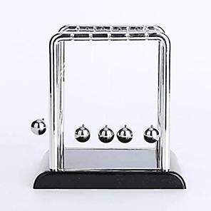 hesapli Ekran Modelleri-Toplar Newton Beşik Balansı Topları Klasik Metalik Paslanmaz Çelik Plastik Genç Erkek Genç Kız Oyuncaklar Hediye